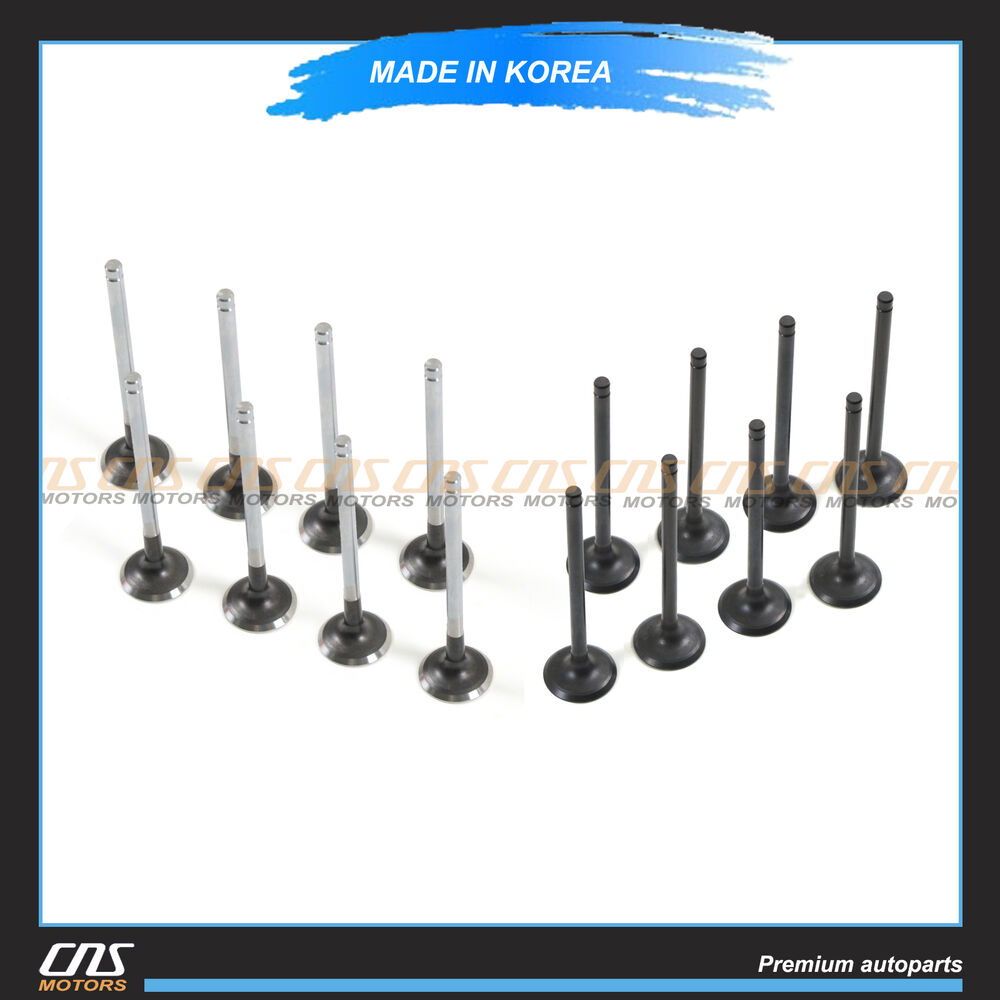 Intake  U0026 Exhaust Valves Kit 04