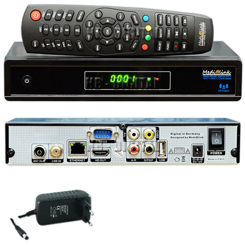 medialink smart home hybrid 1 card combo sat full hd dvb s2 dvb t2 receiver iptv ebay. Black Bedroom Furniture Sets. Home Design Ideas