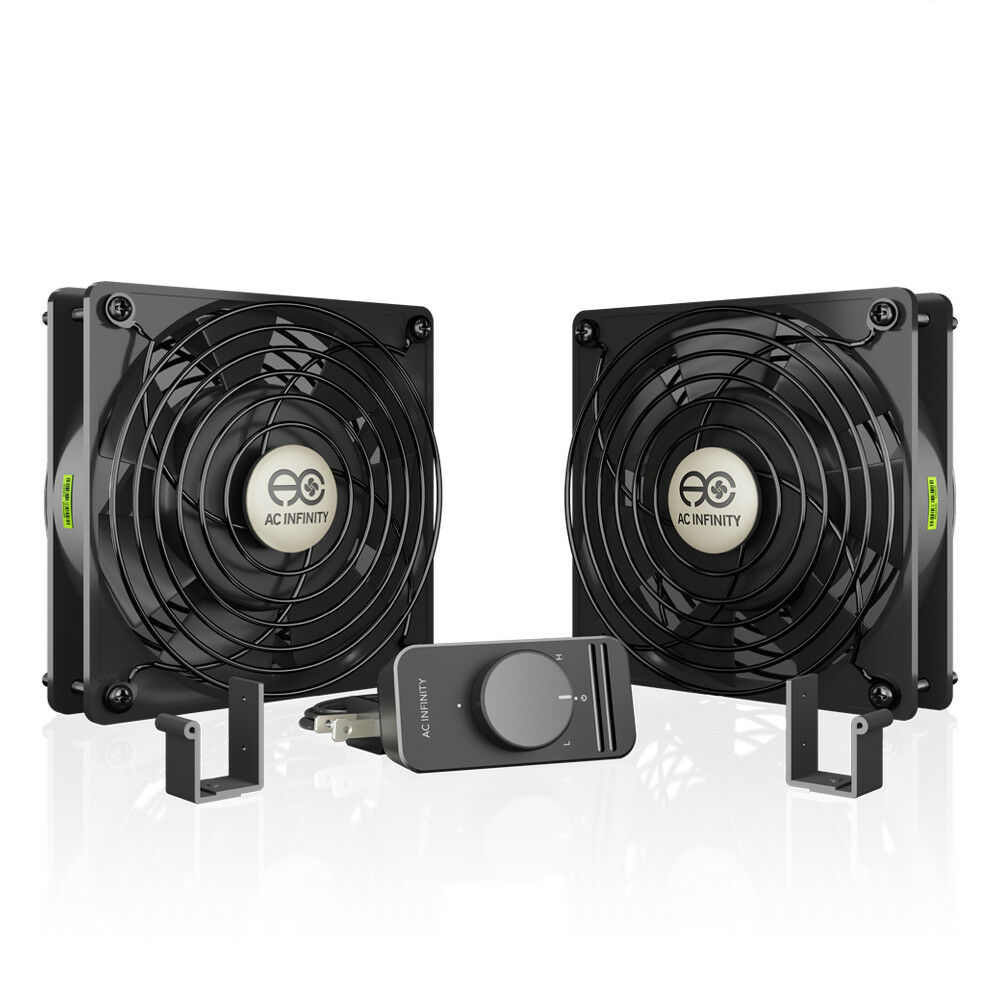 Doorway Circulating Fans : Axial s d dual mm muffin fan doorway room to