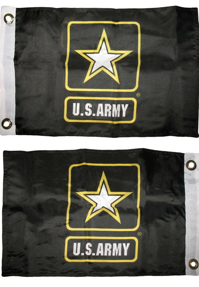 12x18 U S Army Star 2ply Double Sided Boat Flag 12 Quot X18