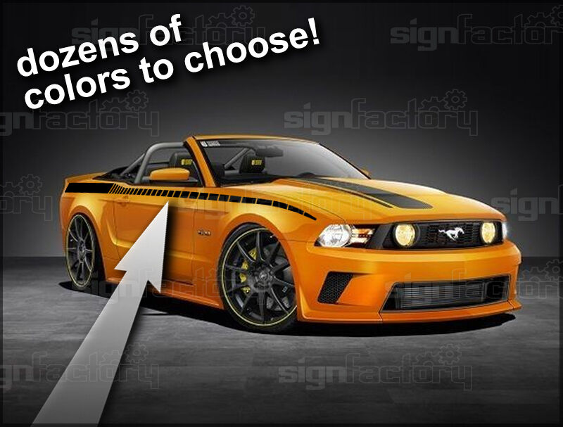 2010 2011 2012 2013 mustang gt shelby custom vinyl stripe for Ebay motors mustang gt