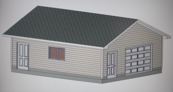 20 39 X 24 39 Garage Shop Plans Materials List Blueprints