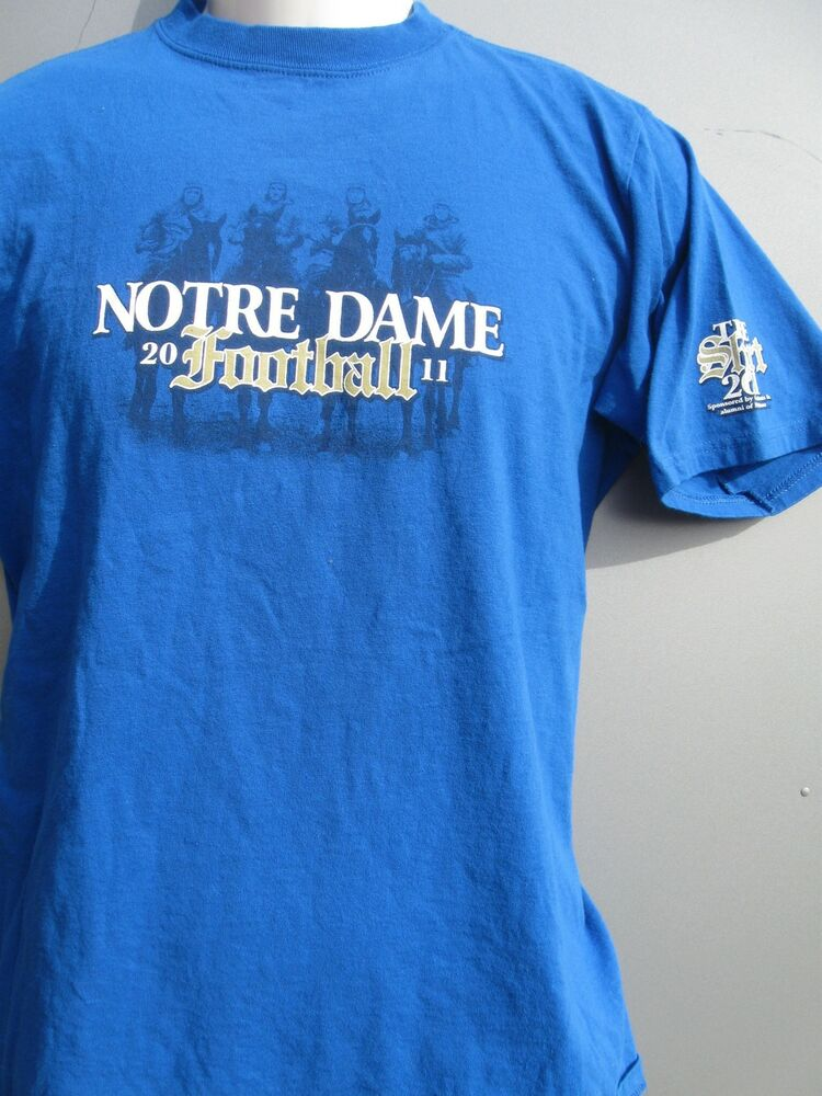 2011 notre dame football cheer old notre dame t shirt for Notre dame youth t shirts