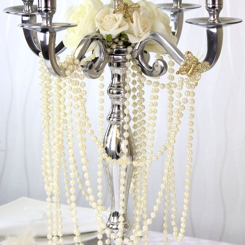 pearl wedding decor 10metre ivory pearl garland string wedding decoration ebay 6423