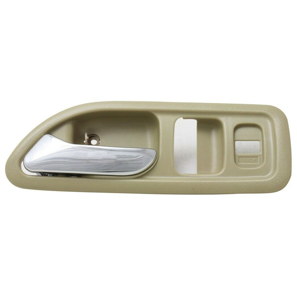 interior door handle for 94 97 honda accord front driver side coupe plastic ebay. Black Bedroom Furniture Sets. Home Design Ideas