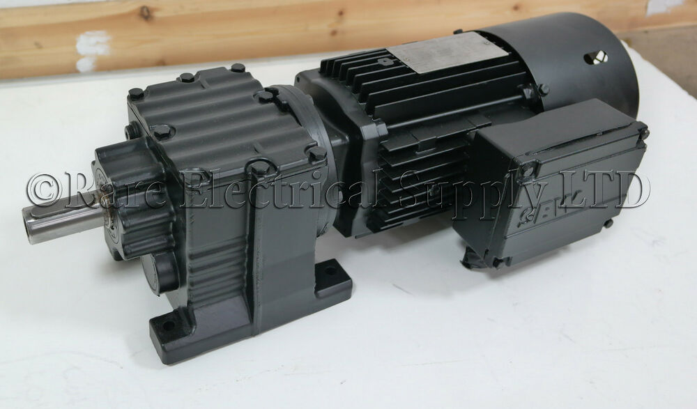 Sew Eurodrive 3 Phase Electric Motor Gearbox With