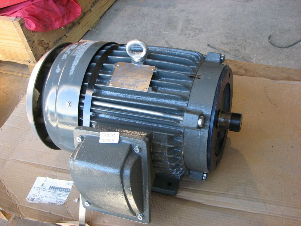 New Teco Westinghouse Max Se 3ph Induction Electric Motor