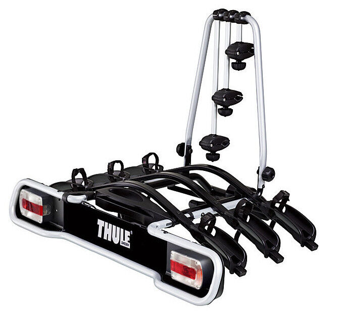thule 943 3 bike cycle carrier towbar mounted platform. Black Bedroom Furniture Sets. Home Design Ideas