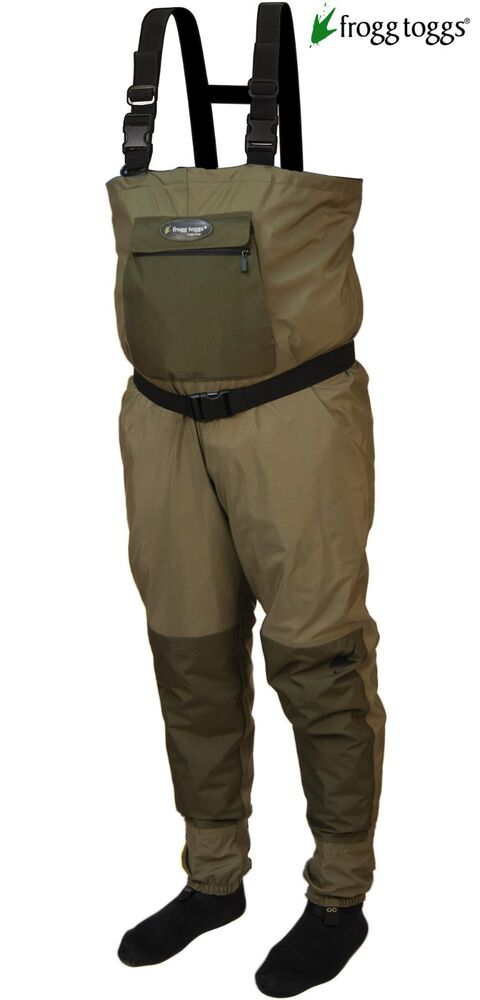Free shipping frogg toggs hellbender breathable for Men s fishing waders