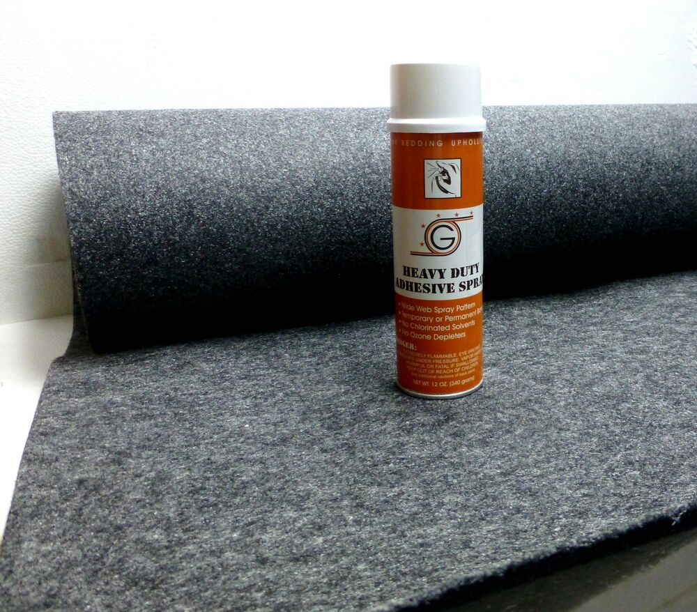 4ft X 15ft Grey Speaker Box Carpet Spray Adhesive Ebay