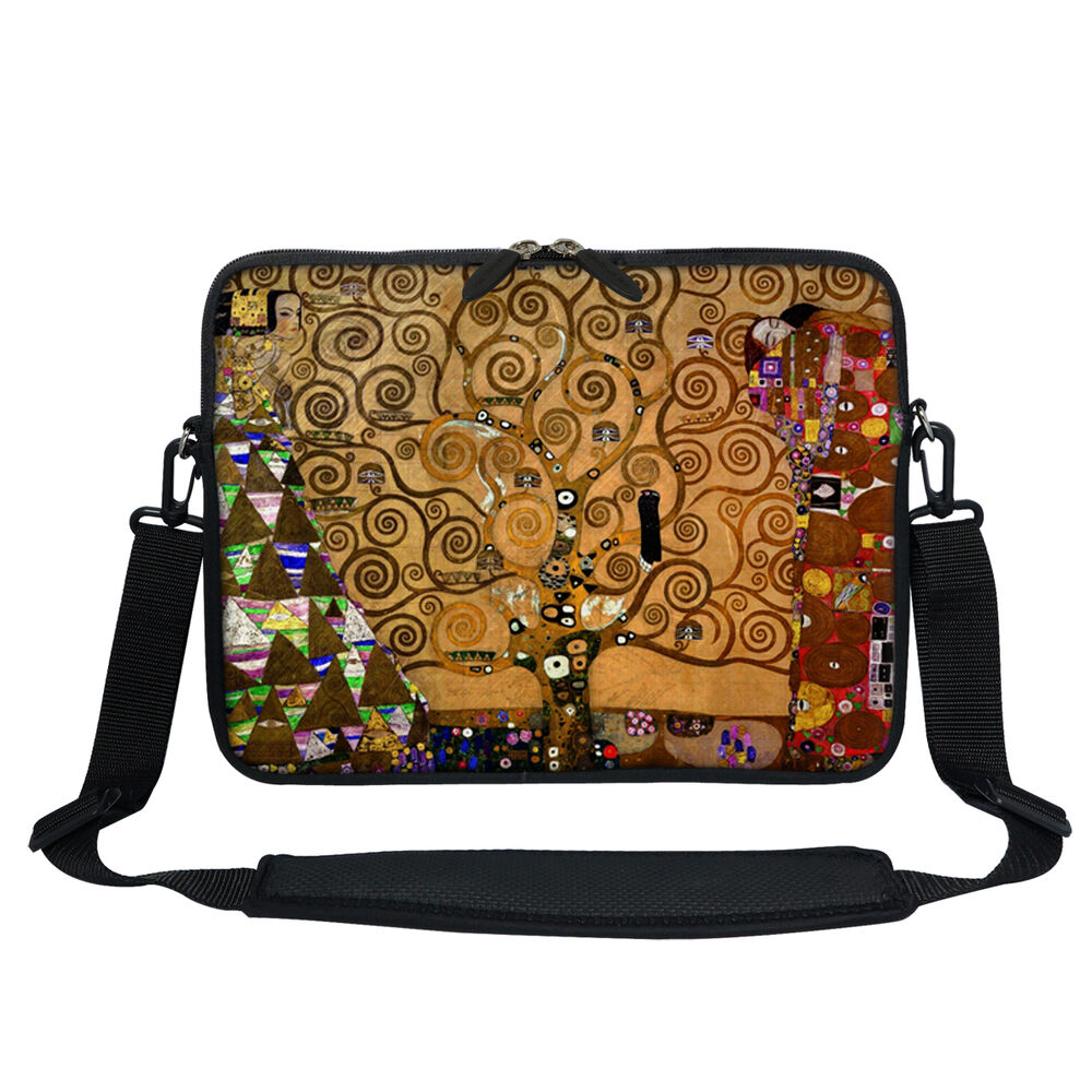 Squishy Laptop Cases : Soft Neoprene Laptop Bag Case with Shoulder Strap to Fit Chromebook 11.6