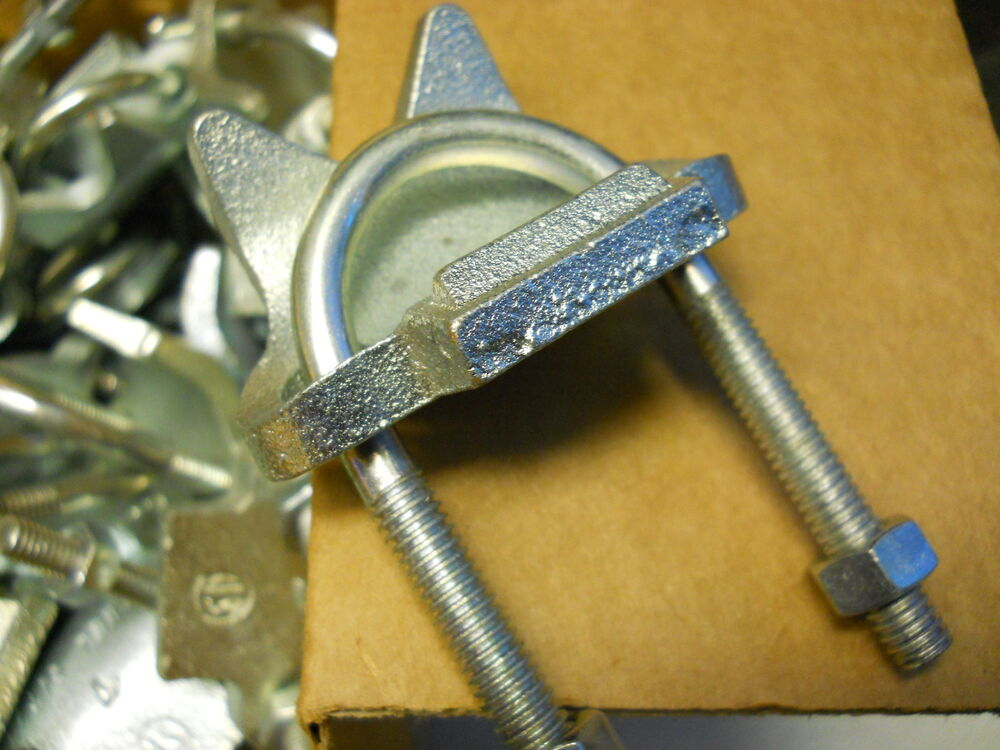 Thomas betts steel city rc galvanized clamps quot pipe