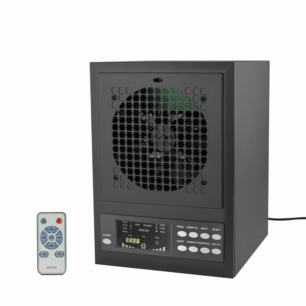 Air Purifier Hepa Carbon Ionic Ozone Generator Clearner Uv