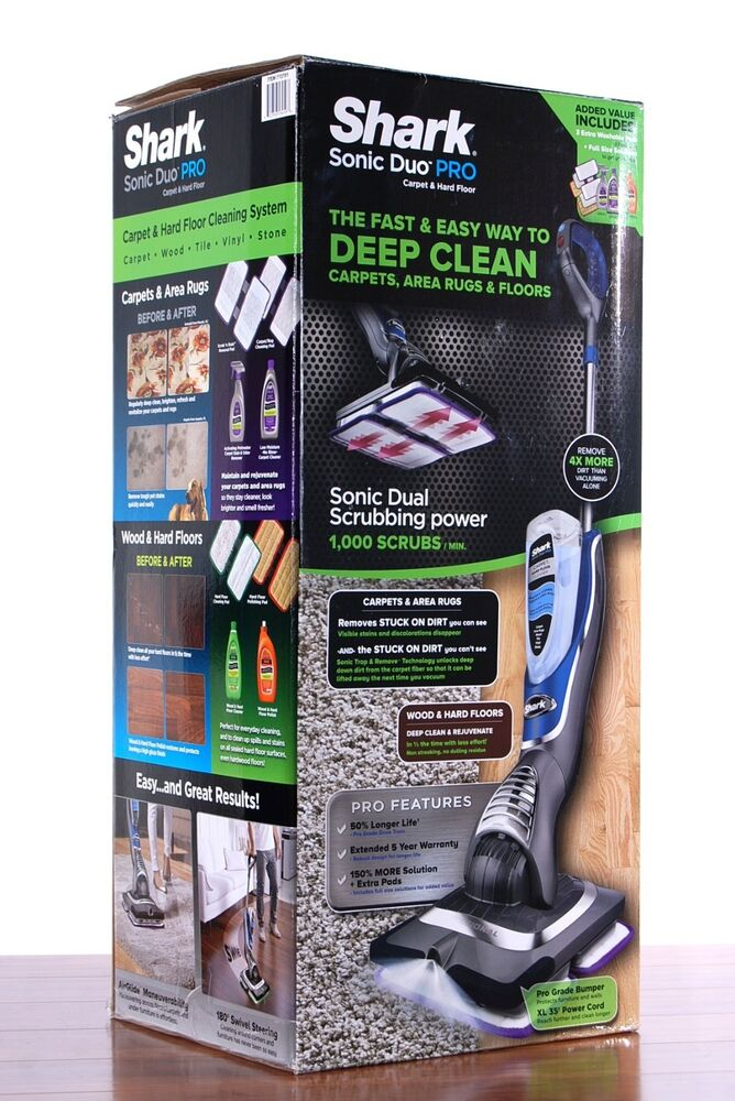 Shark Sonic Duo Pro Spot Removing Carpet Cleaner Steam