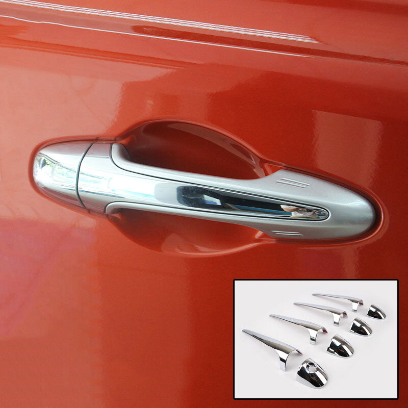For Toyota Rav4 2013 2018 Chrome Door Handle Cover Trim Molding Catch Decoration Ebay