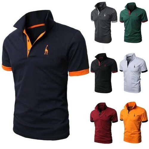 jeansian designed mens t shirts tops tee polo slim fit stylish xs s m. Black Bedroom Furniture Sets. Home Design Ideas