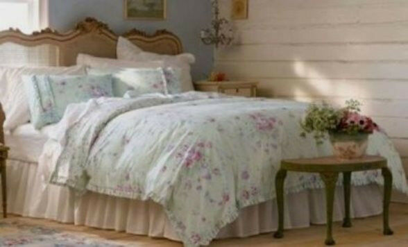 SIMPLY SHABBY CHIC RACHEL ASHWELL DUVET COVER KING QUEEN