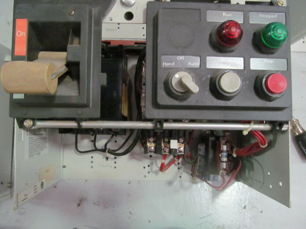 Westinghouse 2100 12 Size 1 Motor Control With A200m1cac
