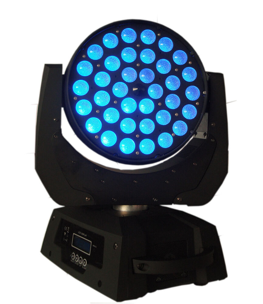 1PCS New Pro TE-36x10W RGBW (4in1) LED Zoom Moving Head