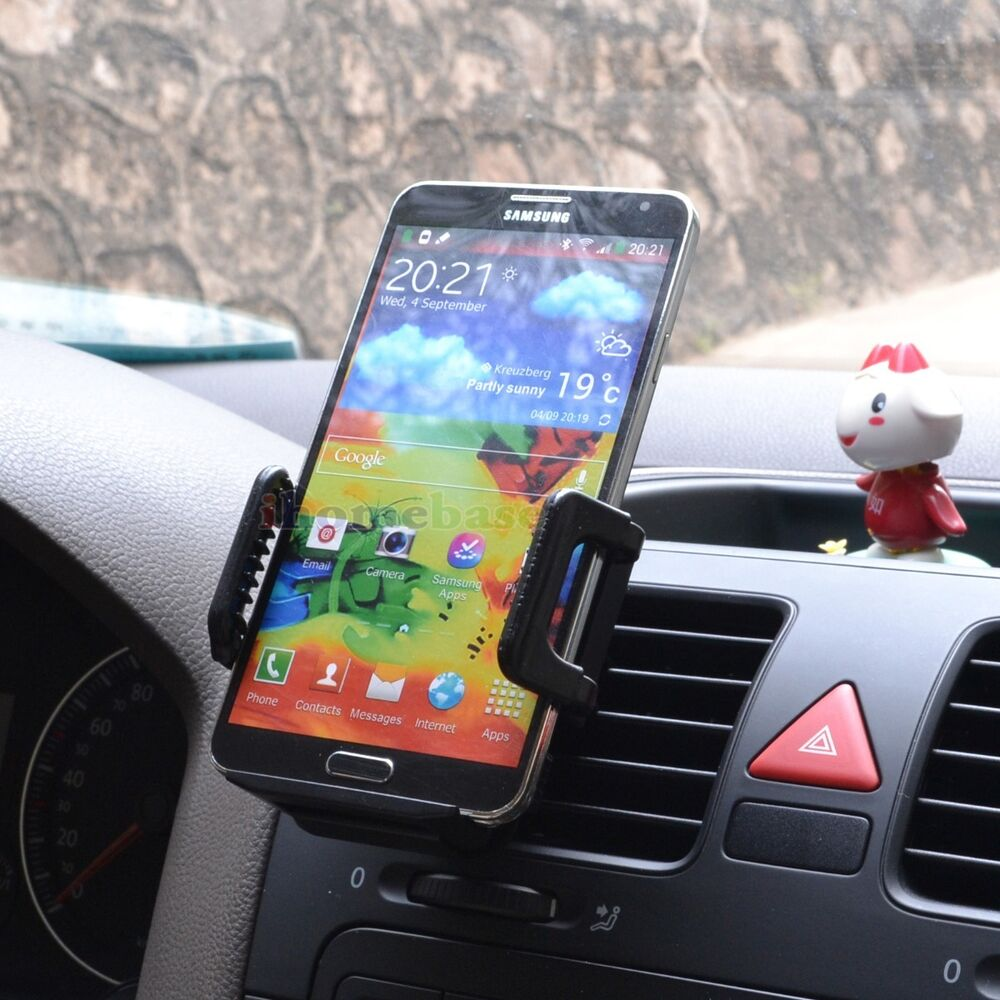 Air vent magnetic car cell phone mount holder