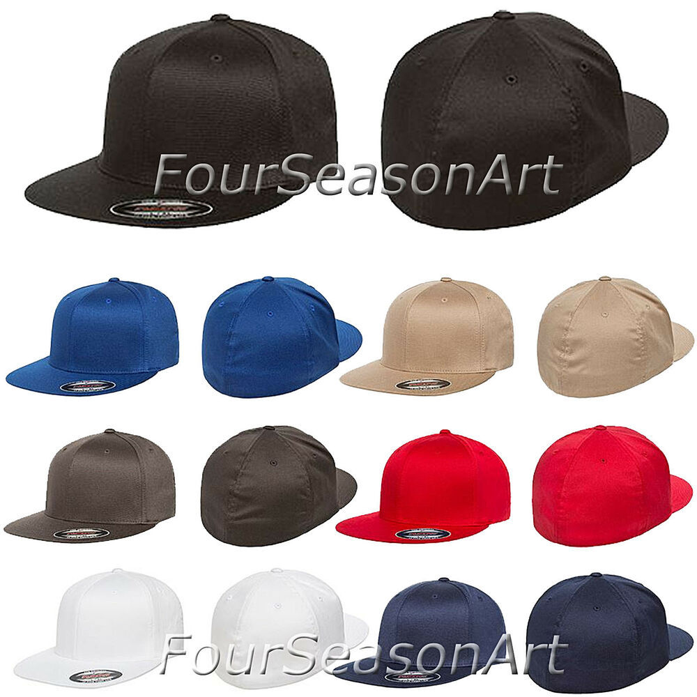 0b9e56ec824 Details about Flexfit Pro-Baseball On Field Cap Fitted Baseball Mens Hat  S M L XL 6297F