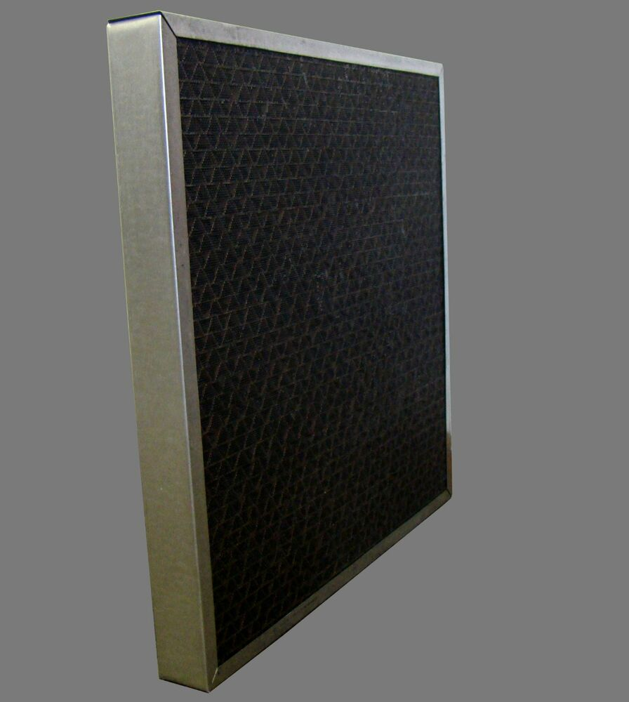 Carbon Air Filters Commercial : Quot granular activated carbon air filter ebay
