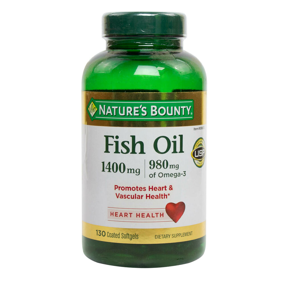 Nature 39 s bounty maximum strength fish oil 1400mg omega 3 for Fish oil 1400 mg