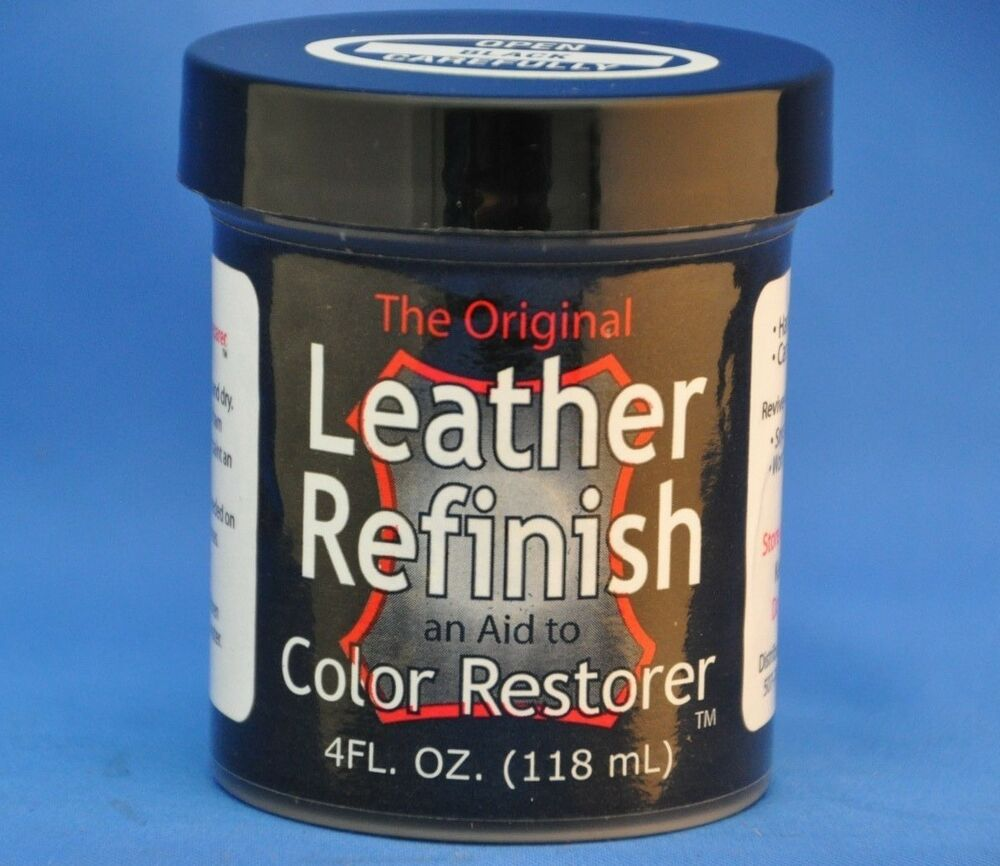 Leather Refinish An Aid To Sofa Shoe Automotive Color