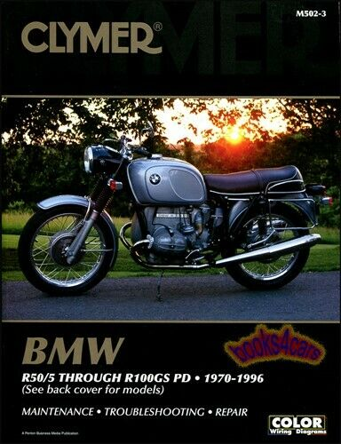 bmw shop manual service repair book clymer r50 r100 ebay. Black Bedroom Furniture Sets. Home Design Ideas