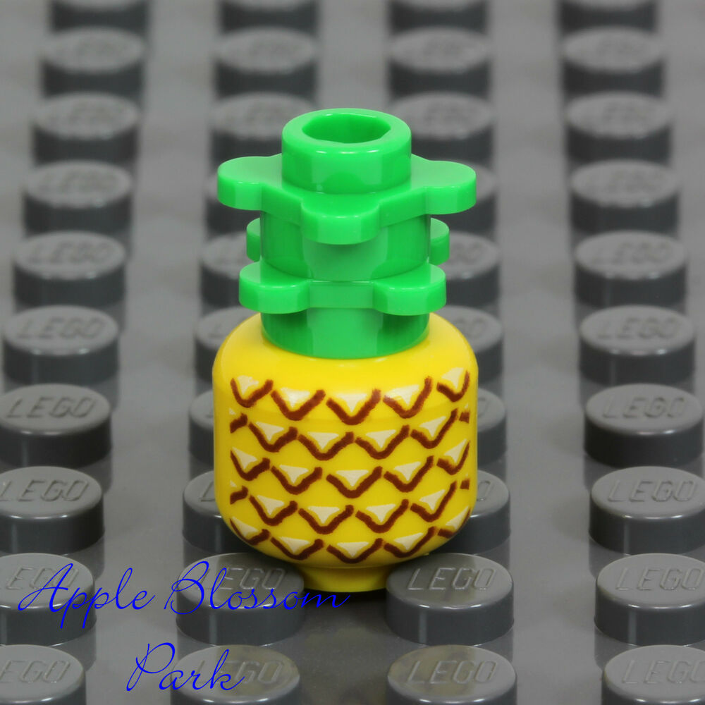 Lego Toy Food : New lego minifig pineapple friends minifgure kitchen