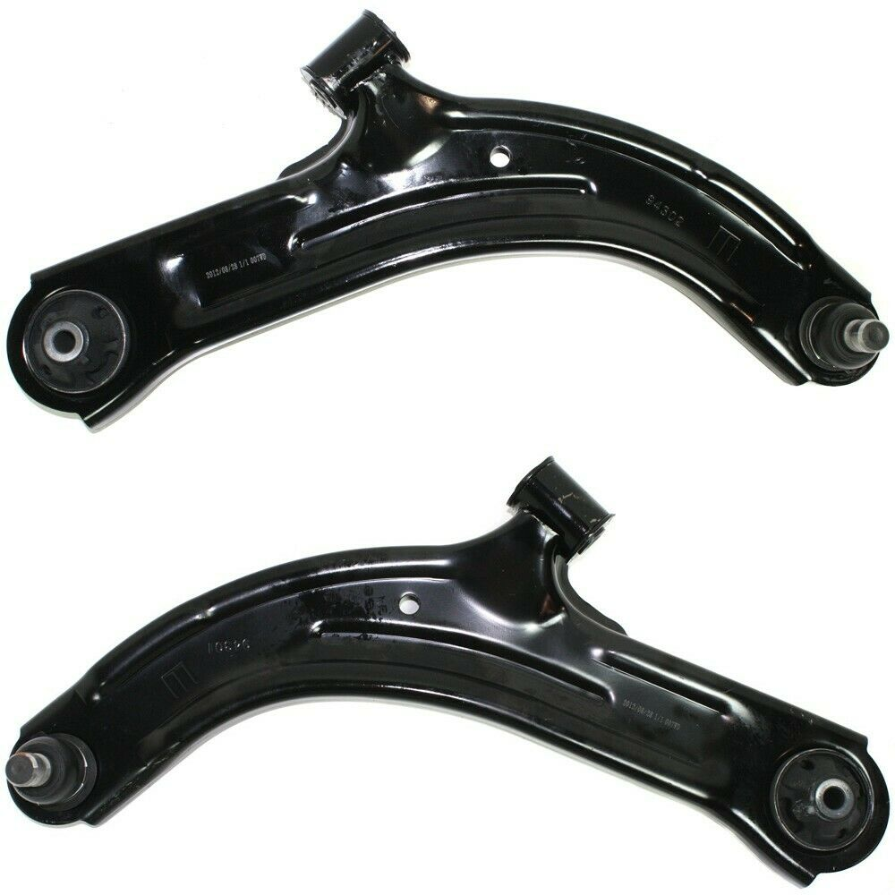 front lower control arms w ball joints pair set of 2 for nissan versa cube ebay. Black Bedroom Furniture Sets. Home Design Ideas