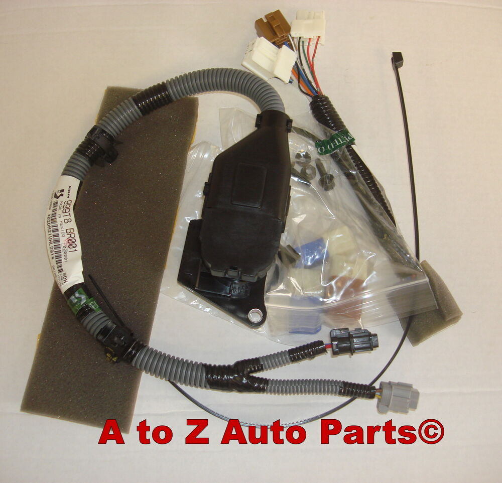 2005 2014 nissan frontier 7 way flat trailer tow towing wiring harness oem ebay