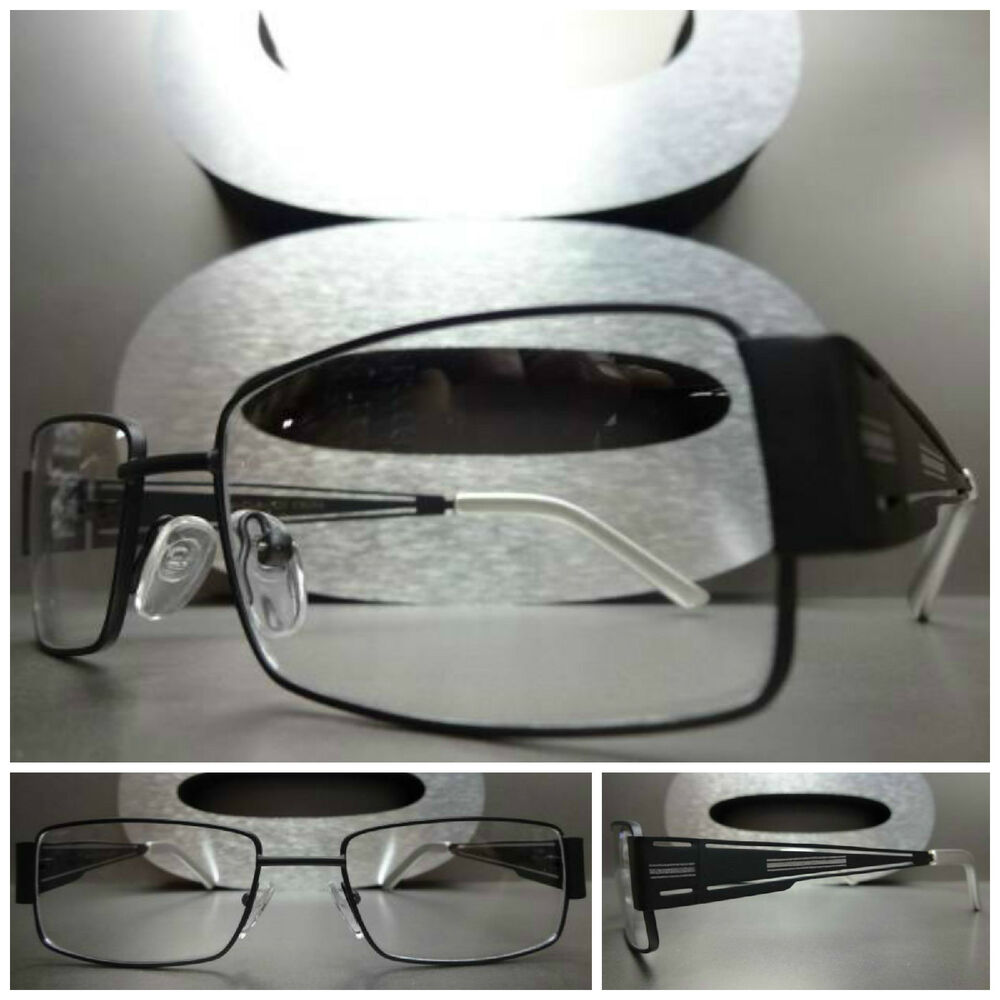 Mens or Women CONTEMPORARY MODERN Style Clear Lens EYE ...