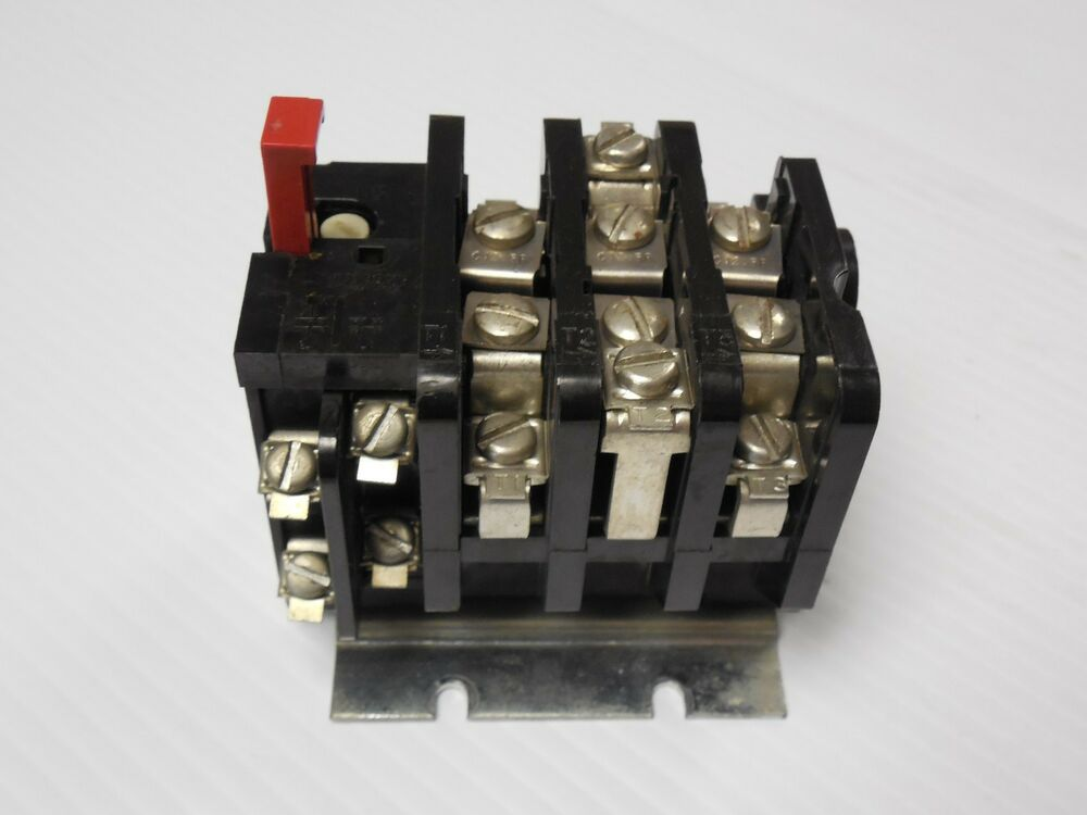 General electric ge overload relay cr324c660a used ebay for General electric ac motor thermally protected