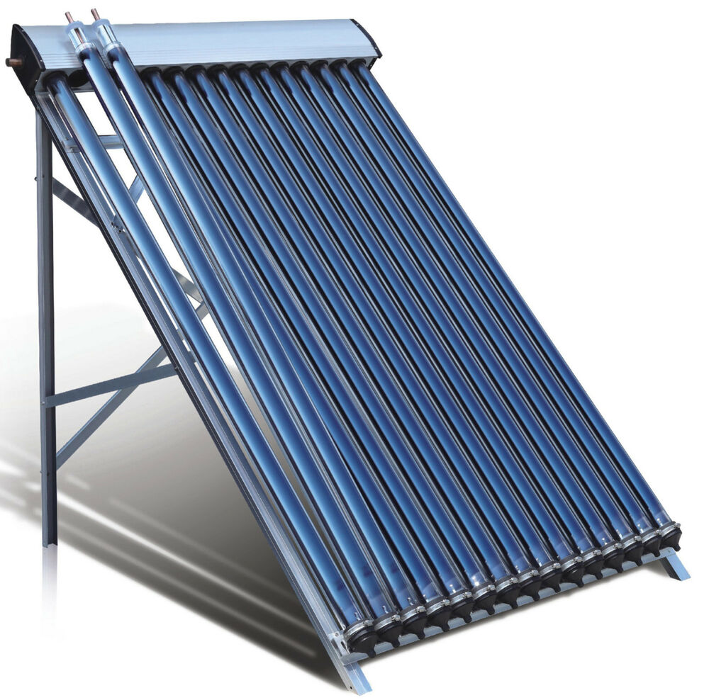 Duda Solar Water Heater Collector SRCC Evacuated Energy Split Panel ...