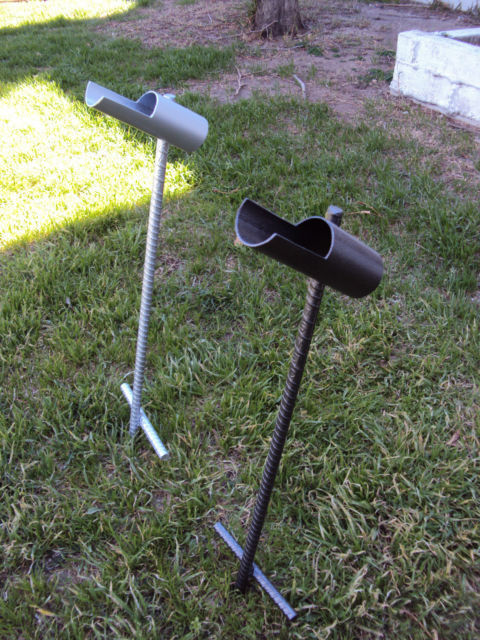 fishing pole holder solid steel fishing rod pole holder ebay 28608