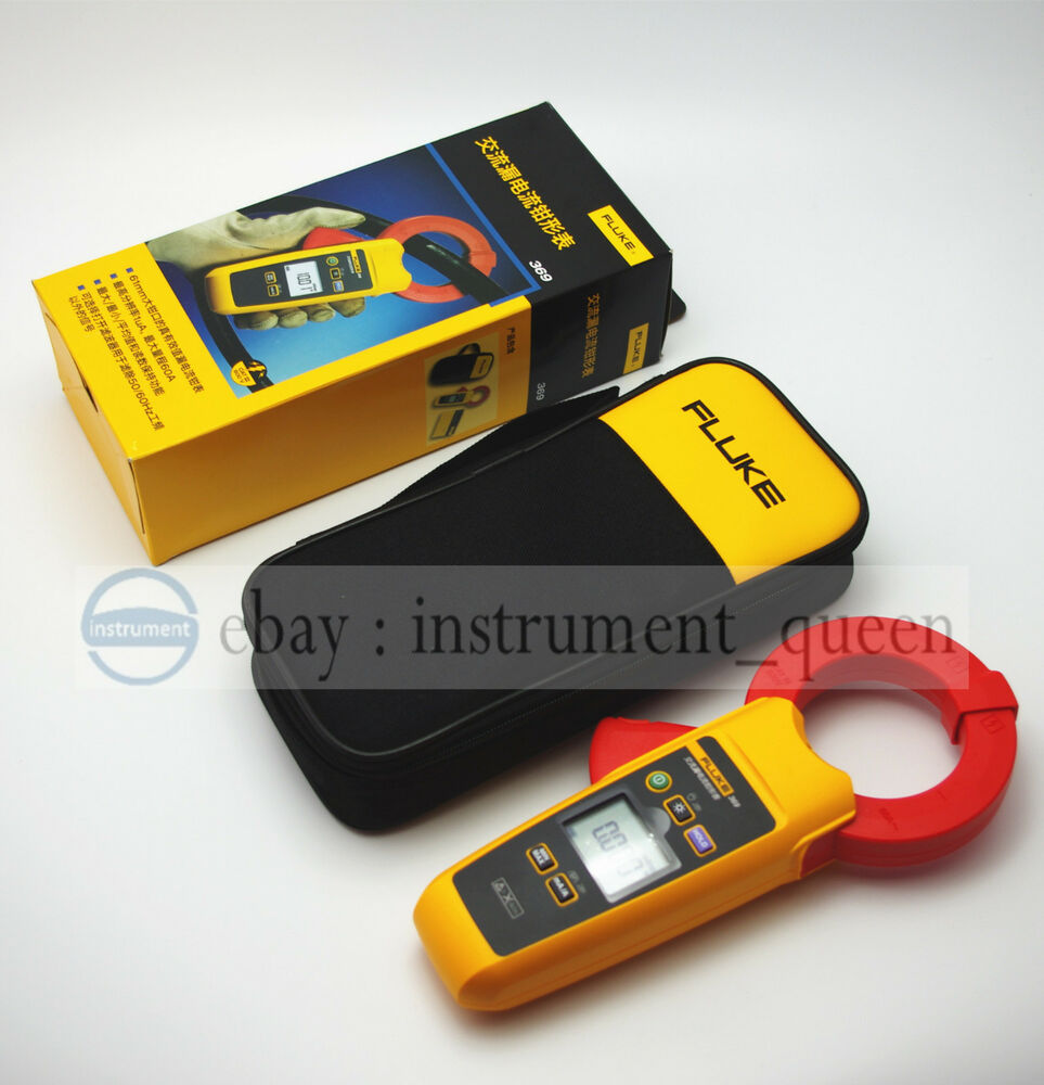 1ua Clamp Meter : Fluke leakage current clamp meter mm jaw a ebay