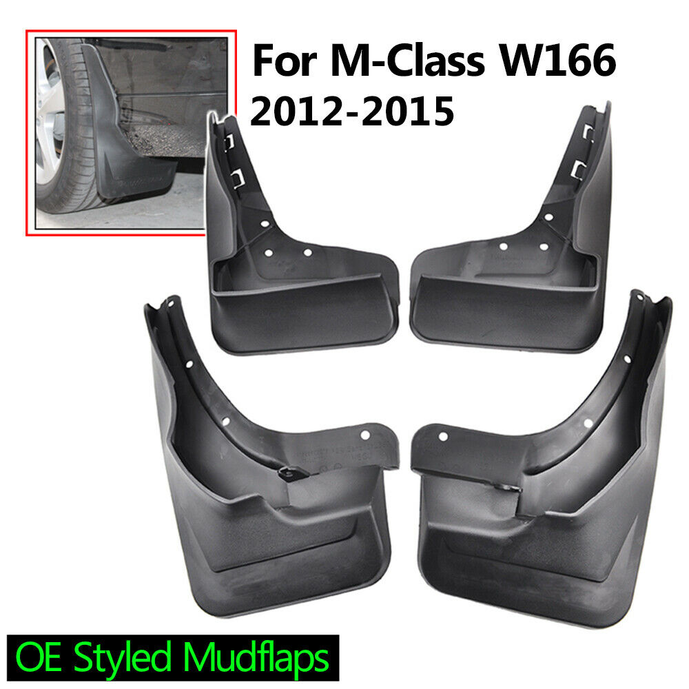 Fit for 12 15 mercedes benz m class w166 w running board for Mercedes benz ml350 mud flaps