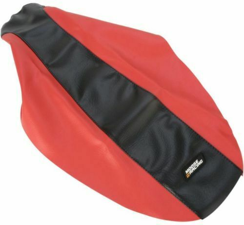 Moose Racing Standard Seat Cover Red Black Honda Crf150f