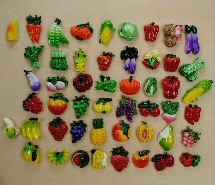 Refrigerator Magnets Fruits Vegetables Magnet For Your