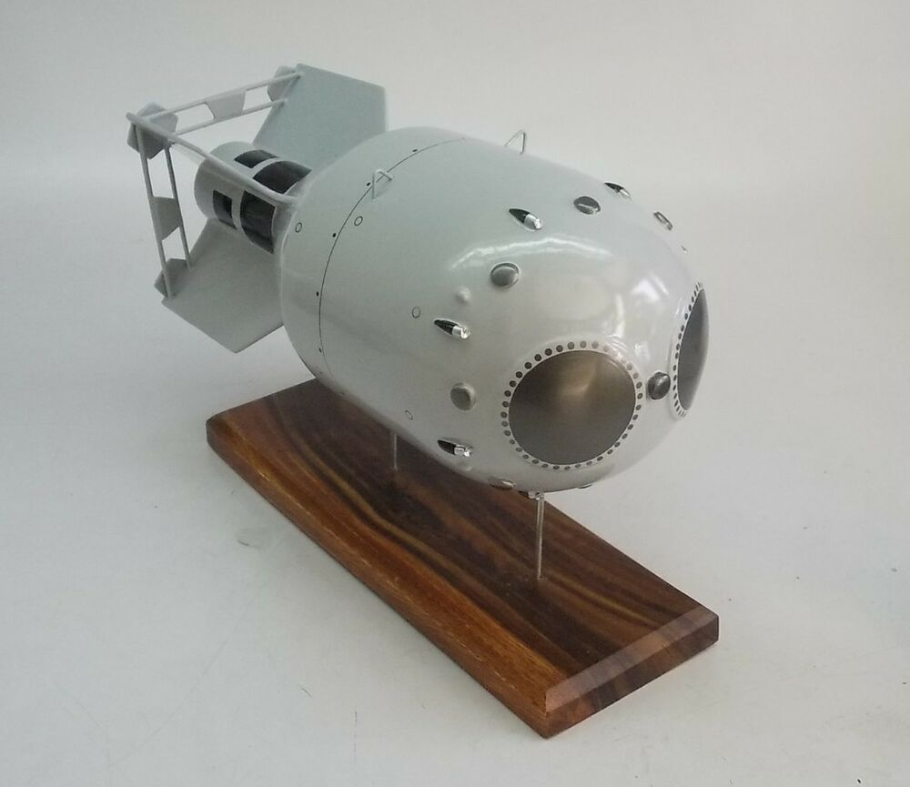 Details about  RDS-1 Nuclear Bomb Handcrafted Wood Model Large New
