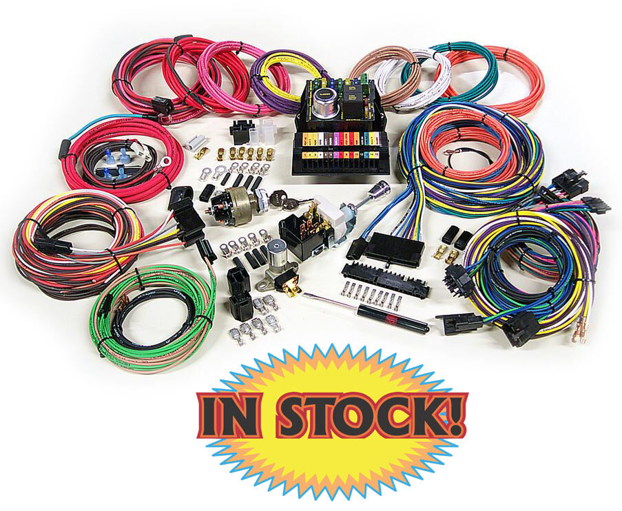 Automotive Wiring Harness Uk : American autowire highway complete wiring harness kit