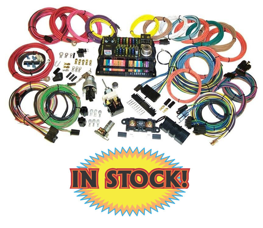 highway 22 wiring harness american autowire highway 22 complete wiring harness kit ... highway 15 wiring harness