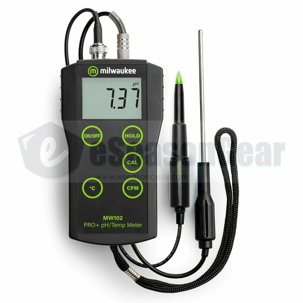 Ph Meter For Chemicals : Milwaukee mw ma food ph °c meter probe for meat