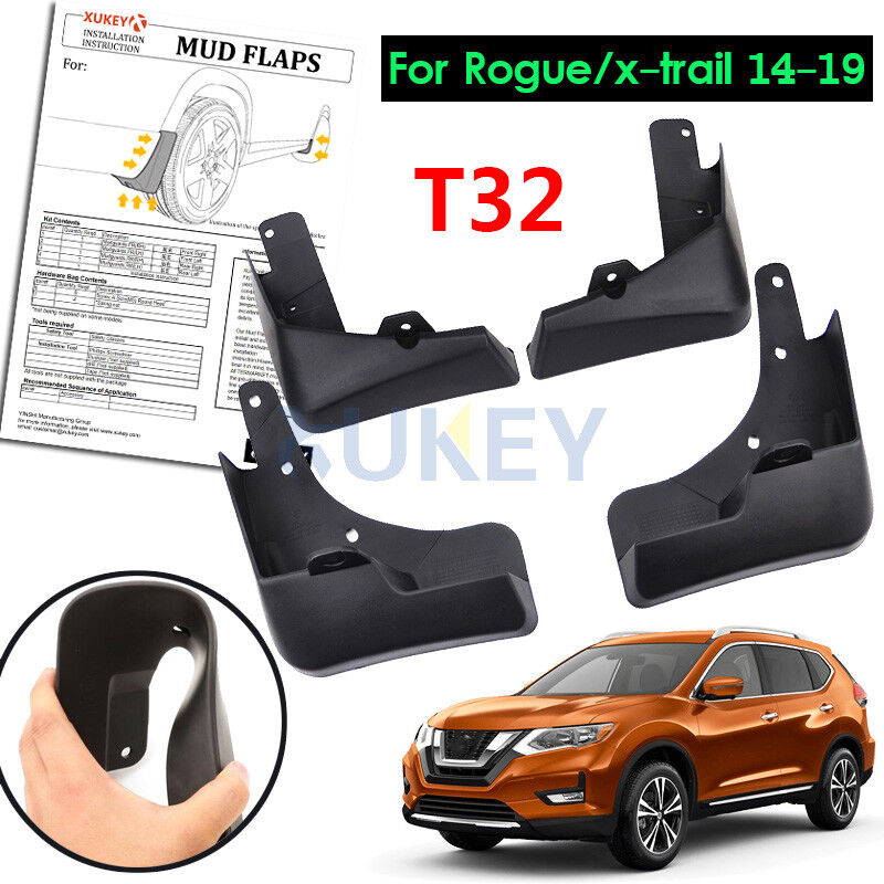 1 set fit for 2014 2015 nissan rogue mud flap flaps splash. Black Bedroom Furniture Sets. Home Design Ideas