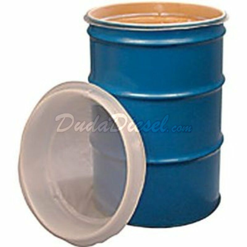 55 gallon ez strainer drum barrel filter biodiesel wvo for 100 gallon pond filter