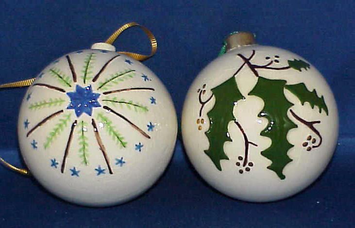 best 28  - ceramic christmas ornaments to paint