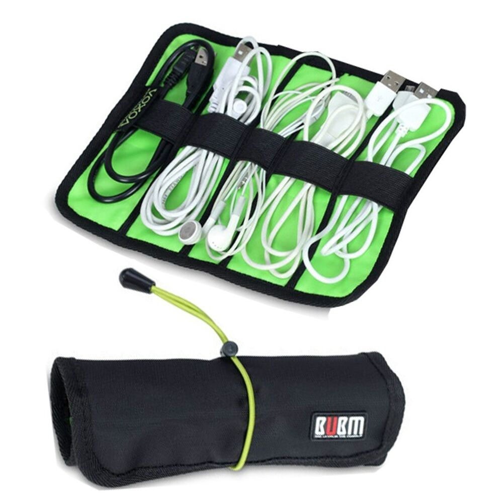 Cable Organizer Bag Mini Size Portable Can Put Usb Cables