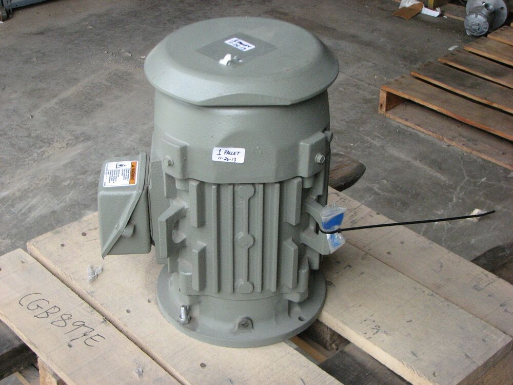 New ge 2 hp severe duty vertical electric motor for Weg motors technical support