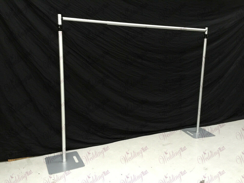 10ft Telescopic Wedding Backdrop Stand Pipe And Drape